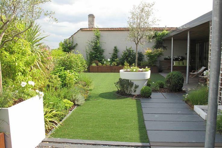 vrai jardin sur le toit