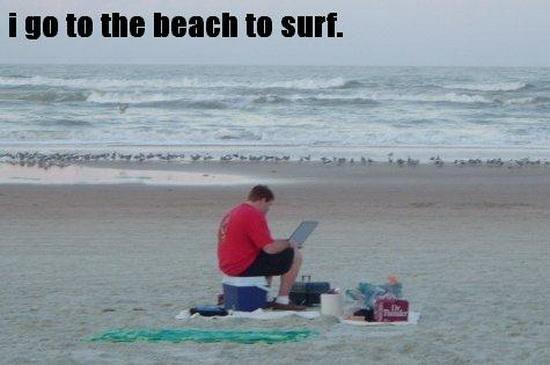 Beach puns!