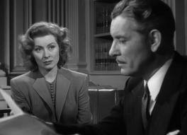Random Harvest--Greer Garson, Ronald Colman - Greer's character gets hired on as Colman's character's secretary, not knowing it is his wife (he is suffering from amnesia).