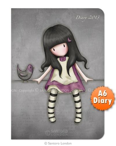 2013 A6 Diary - Gorjuss My Secret Place