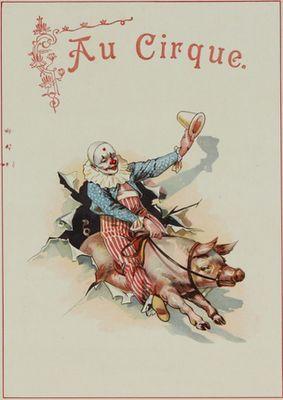 jamaica byles: Vintage Circus Posters