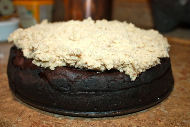 Vegan Chocolate Cake with Almond Butter Frosting