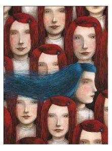capelli blu