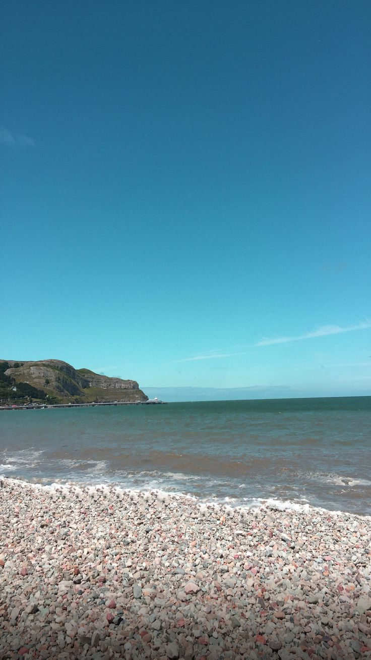 Ocean Turquoise Sand Stones Beach Apple Wallpaper IPhone
