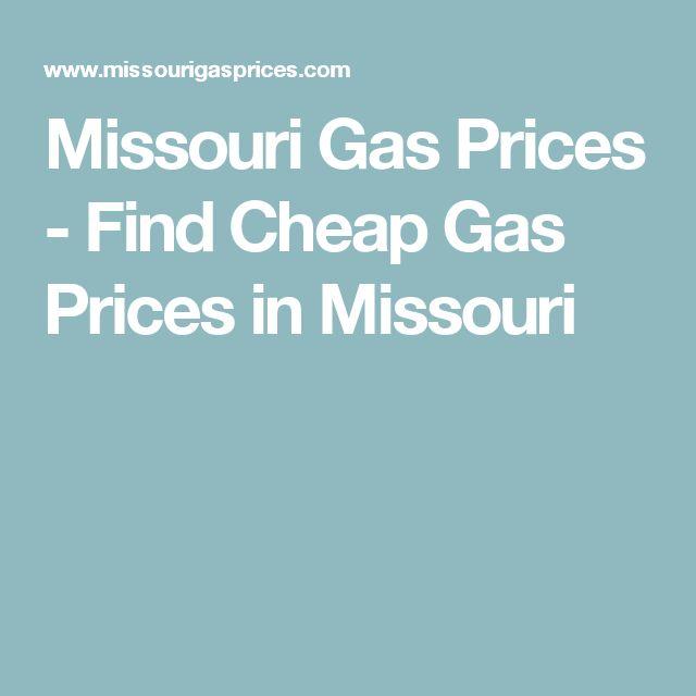 Missouri Gas Prices - Find Cheap Gas Prices in Missouri