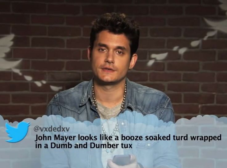 John Mayer from Celebrity Mean Tweets From Jimmy Kimmel Live! | E! Online
