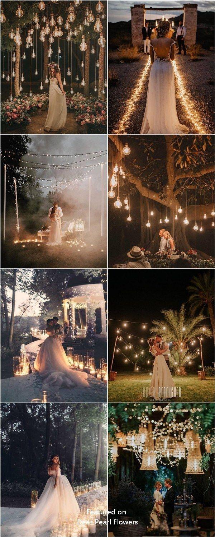 Romantische rustikale Land Licht Hochzeitsfotos #H…