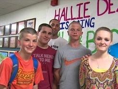 Bald for Bucks Fundraiser, Marion