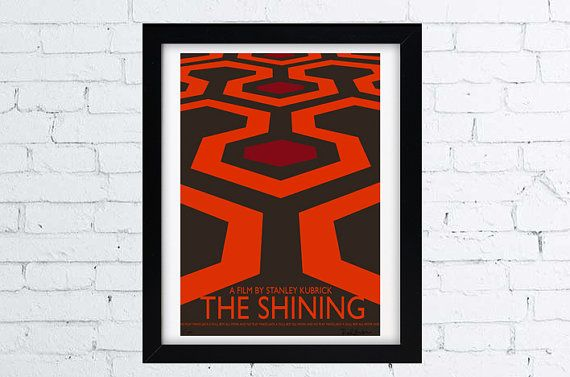 THE SHINING  A film by Stanley Kubrick  Minimal movie poster