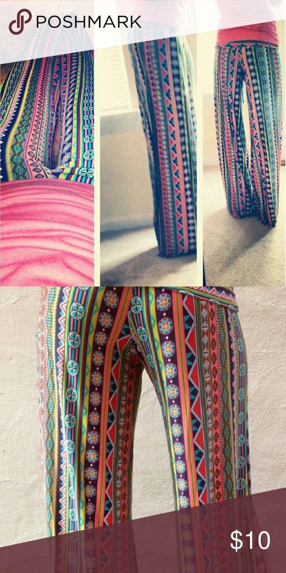 Exuma Pants Colorful Exuma Pants, never worn, size small Pants