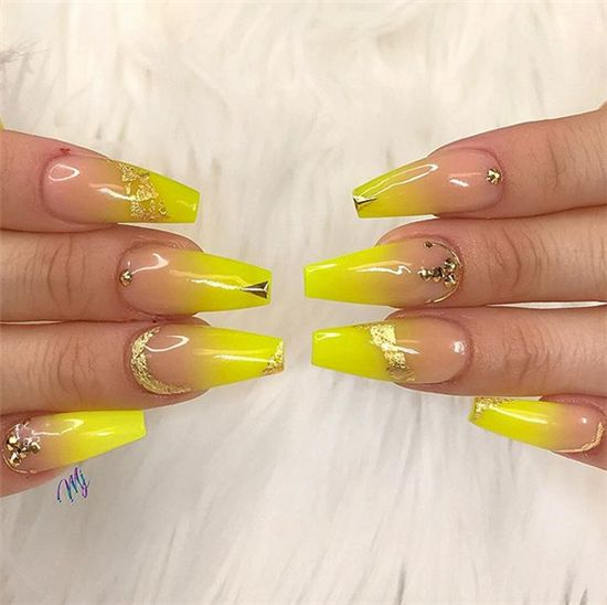 Perfect Summer Ombre Nails Art Designs For You | Nails