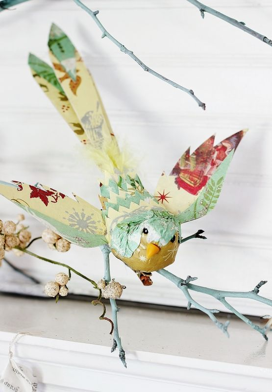 a fabulous tutorial on how to create these winged beauties.