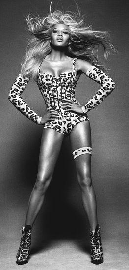 Naomi Campbell by Tom Munro