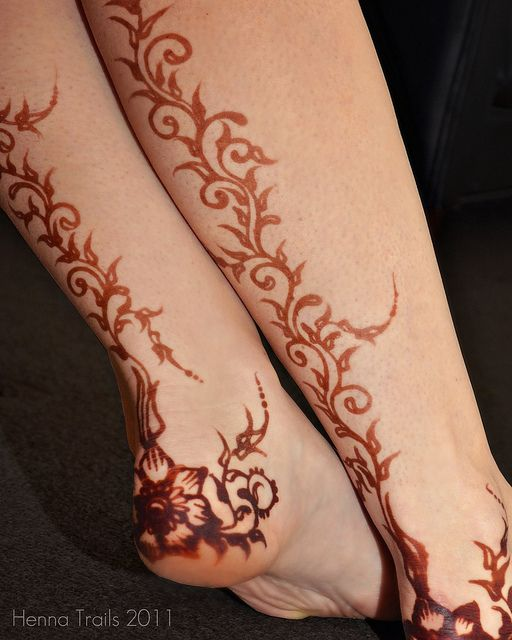 Simple Leg Mehndi Designs : Best henna ideas images on pinterest