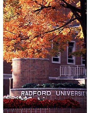 Radford University in the Fall