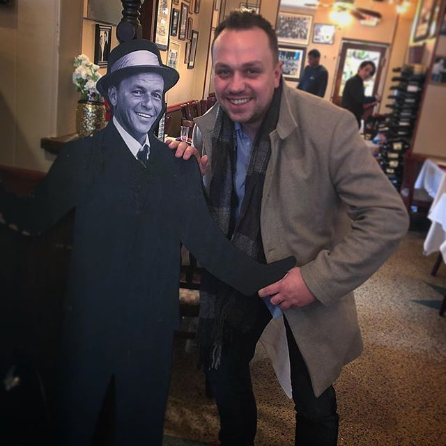 The perfect welcome to New Jersey and my trip to NYC thanks @sinatra @leosgrandevous @alfredcharleslimo @crystalcimaglia  #SwingSinger #NewJersey #Sinatra