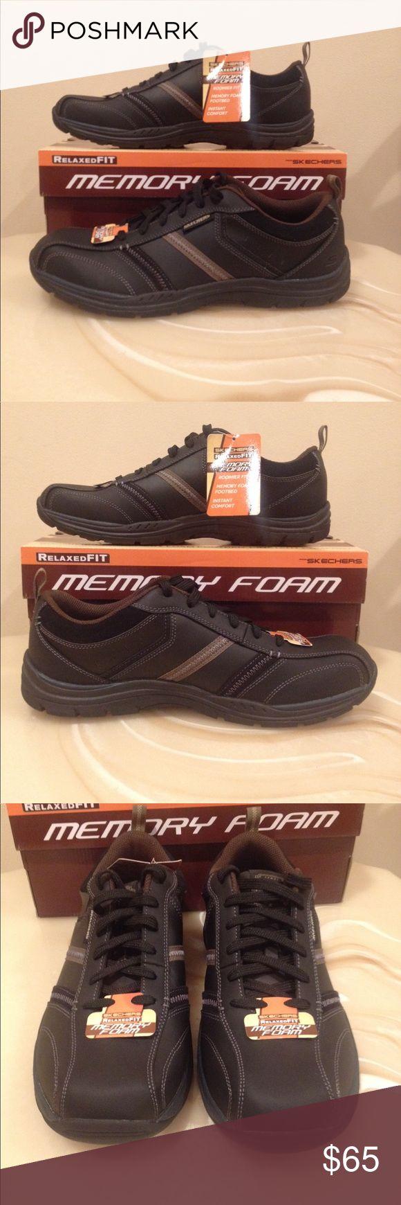 NWT men's SKECHERS shoes Never worn ( memory foam) Skechers Shoes Sneakers
