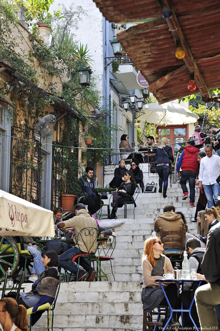 Plaka the most beautiful area of Athens under the Acropolis