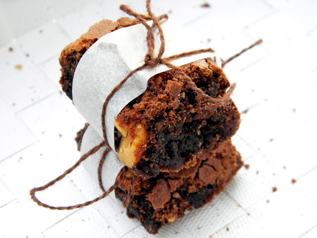 Salted Browned Butter Brownies | Food...miam | Pinterest