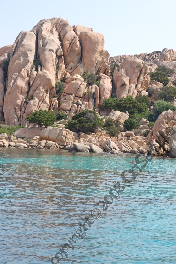 Cala Coticcio (tahiti), Isola di Caprera, arcipelago della Maddalena,