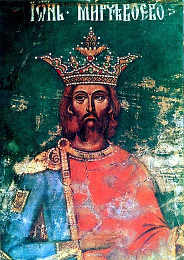 """Mircea the Elder, ruler of Wallachia (from 1386 until 31 January 1418) and grandfather of Vlad Ţepeş (Dracula, or the Impaler). The """"bravest and ablest of the Christian princes"""", as he was described by German historian Leunclavius, ruled Wallachia for 32 years. Apart from his military success, Mircea was an art lover, leaving among other monuments, the beautiful Cozia Monastery."""