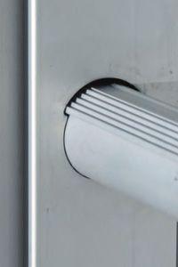 Ipari létrák zuhanásvédelemmel - csúszásmentes létrafok kialakítás