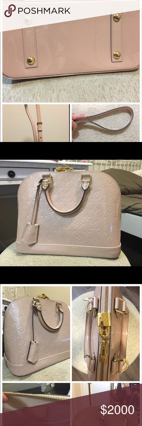 LV pink tote medium size LV bag with belt that I bought for extra 400 dollars  99%new only wear twice  Now on the official website it's price is 2450 plus belt extra 400dollars before tax Louis Vuitton Bags Totes