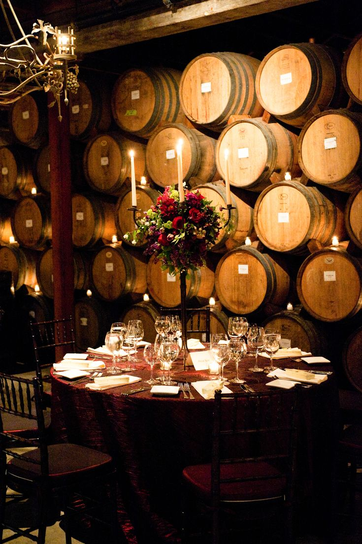 Cellar with style and ambiance