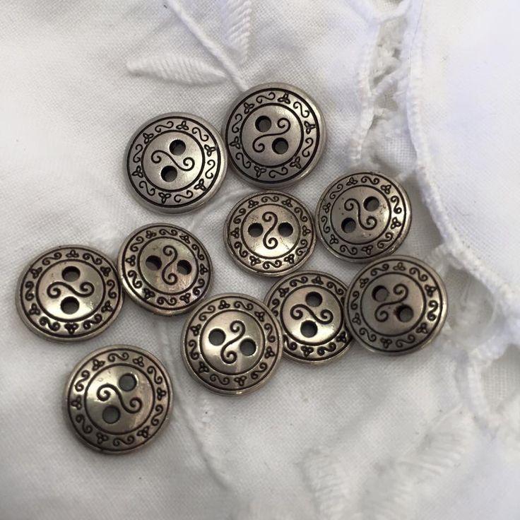 Vintage Silver Buttons  https://www.facebook.com/Joddi-Anns-Buttons-1667638346846662/