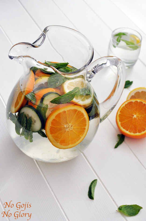 Citrus and Cucumber