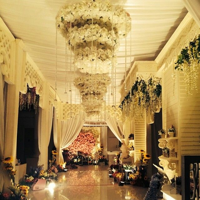 Our Wedding enterence ,, DECOR BY EXOTICA BATAM