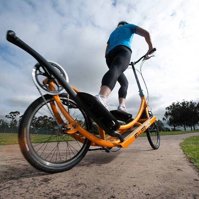 Fancy - Elliptigo Exercise Bike. I just saw a couple of these the other day! They were so cool!
