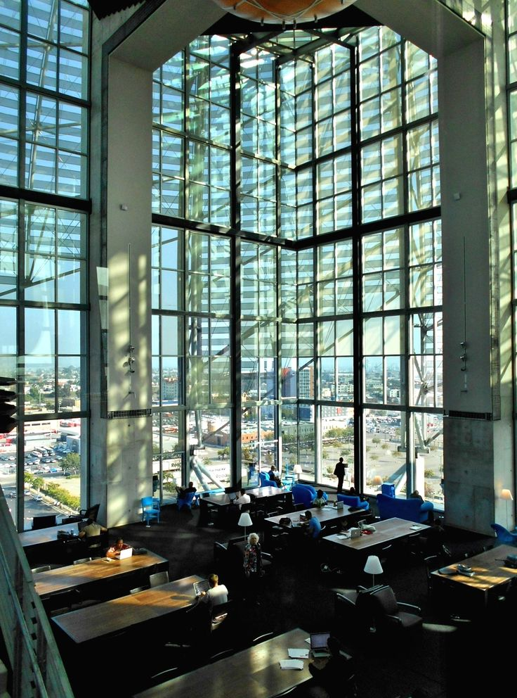 San Diego Public Library, Reading Room