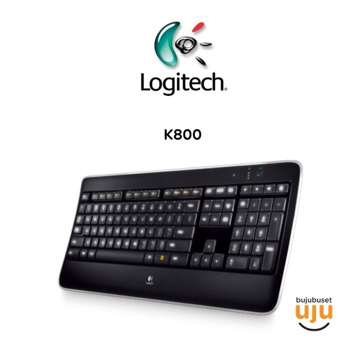 Logitech Wireless Keyboard K800 Illuminated  IDR 1.110.000