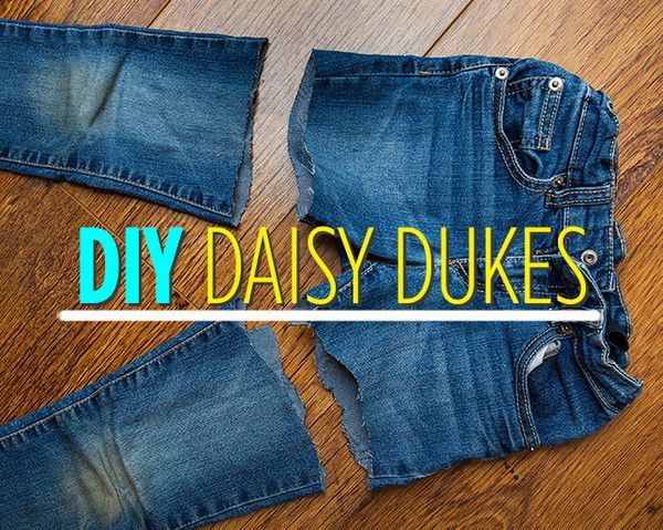 How to Make Your Own Daisy Dukes