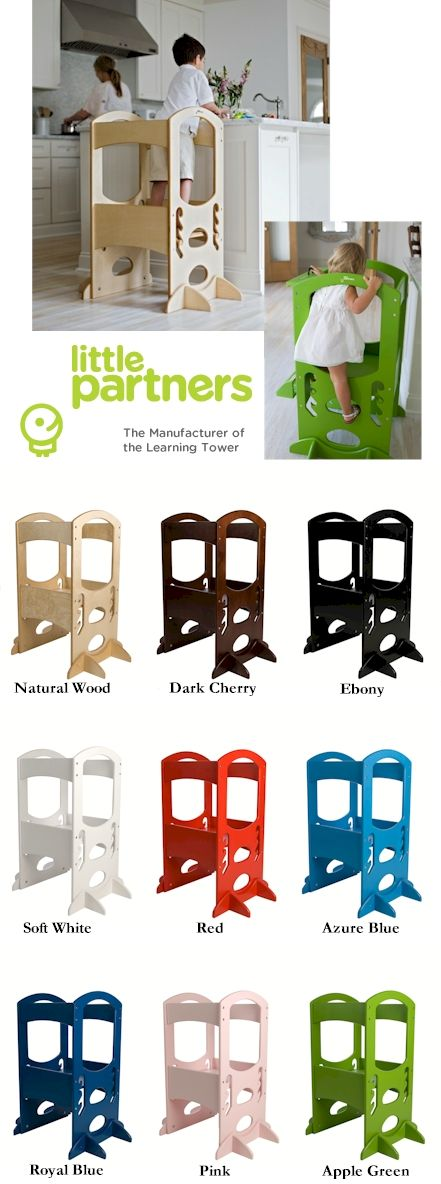 Little Partners Learning Tower Step Stool - I want this but $200??  You're joking!!