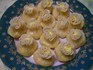 Фото к рецепту: Вариация на  тему: «ВОНТОНЫ» (китайские пельмени)