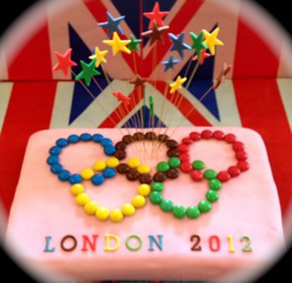 This looks simple enough for the boys to help decorate for our Olympics party!