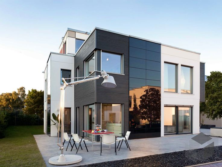 23 best h user mit dachterrasse images on pinterest build house flat roof and home architecture. Black Bedroom Furniture Sets. Home Design Ideas