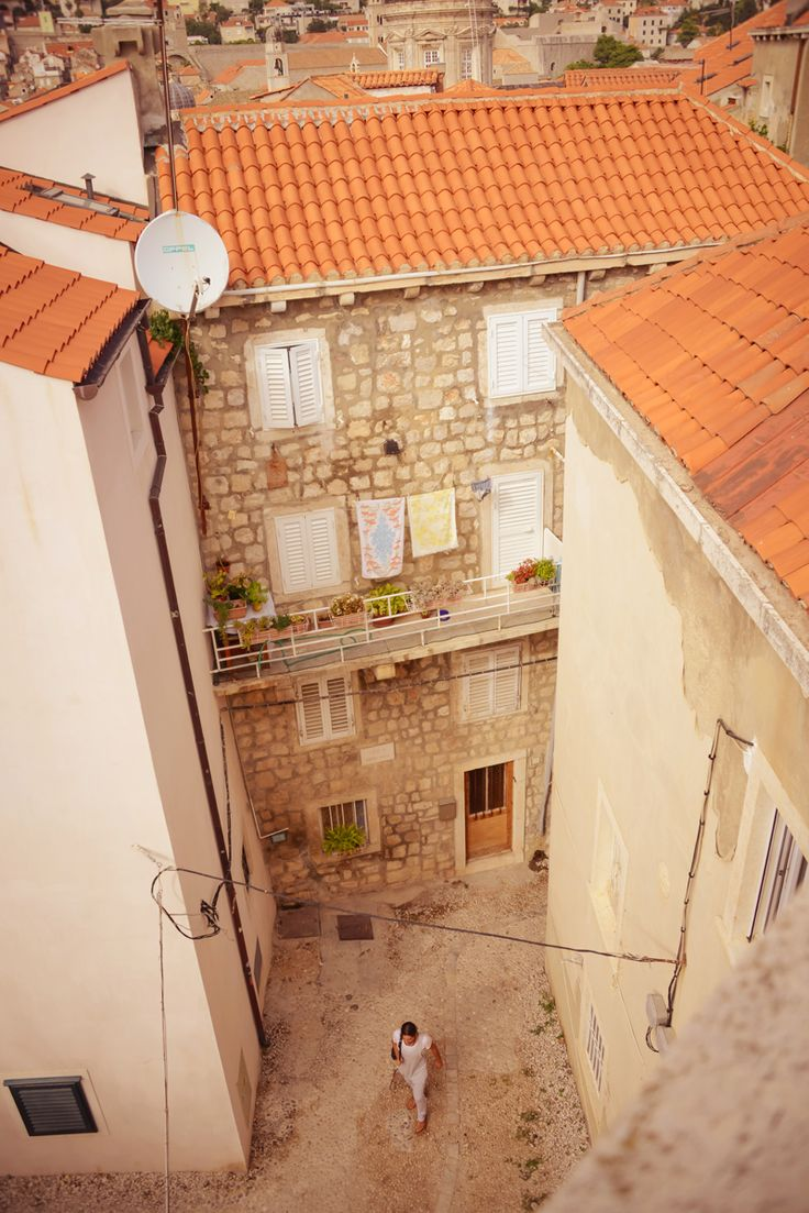 Old town streets - The Best Photography Locations in Dubrovnik, Croatia #travel #croatia