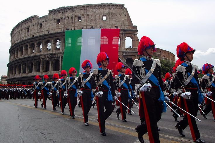 L'Accademia militare di Modena (future officers for both the Army and the Carabinieri) ~ Italy