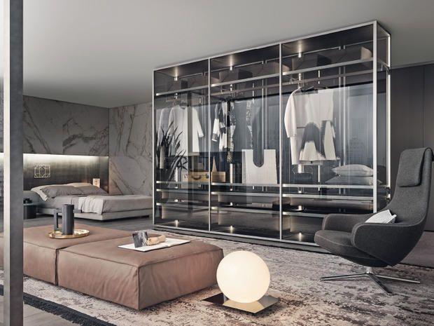 La camera da letto diventa regale: una stanza per ritemprarsi, interpretata attraverso elementi neutri, complici del riposo