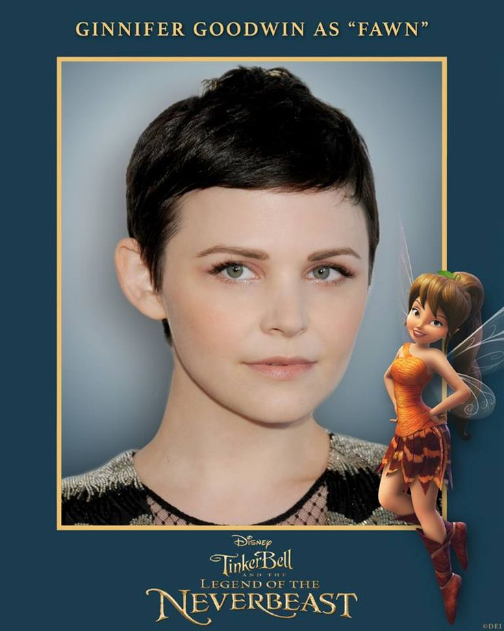Interview with Ginnifer Goodwin, Voice of Fawn in TinkerBell and the Legend of the NeverBeast   Optimistic Mommy