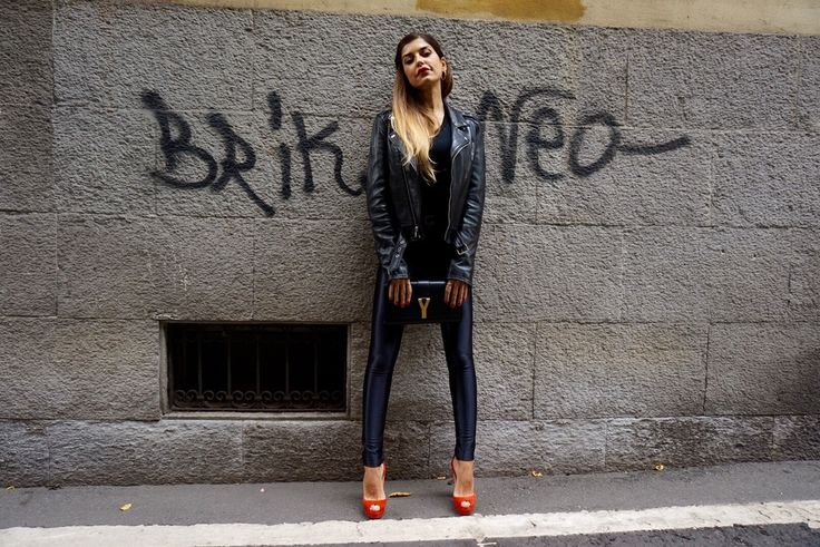 grease_saintlaurent.jpg inspiration for #leather #jacket outfit like Grease discover on www.sweetbea.it