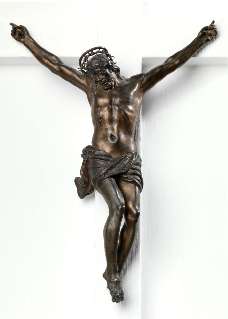 SCULPTOR ACTIVE IN FLORENCE AROUND THE MID XVII CENTURY Giovan Francesco Susini? (Florence 1585 - 1653 ca.)  Crucifix, Christ on the Cross