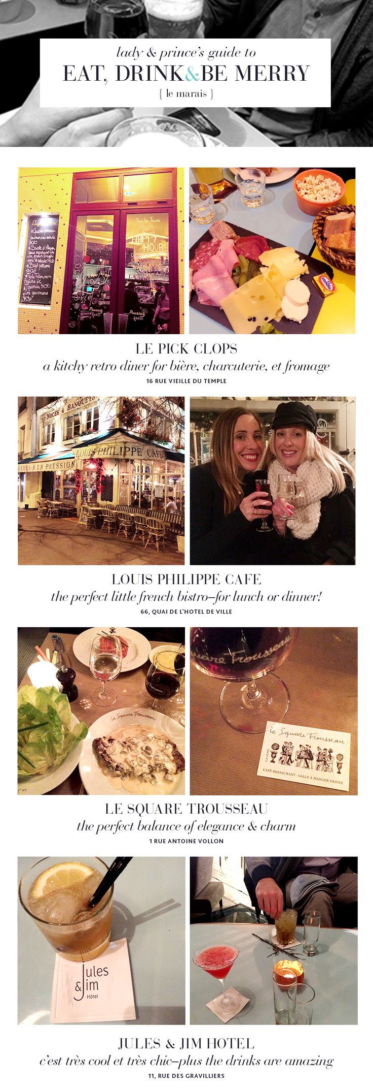 Paris Travel: Where to eat and drink in the Marais