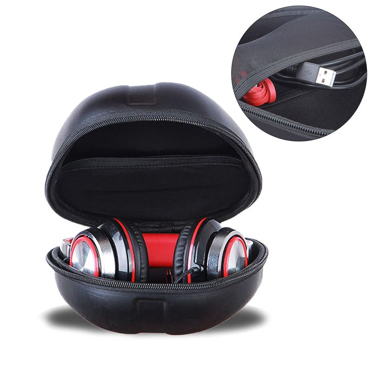 Storage Case Bag for Beats Dre Detox Pro Over Studio 2.0 Headphons