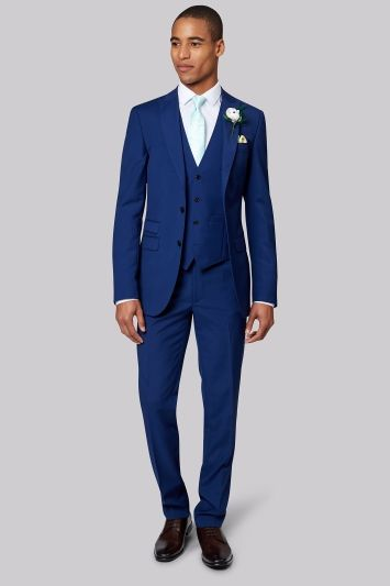 c9bcfa9a0f0b French Connection Bright Blue Lounge Suit