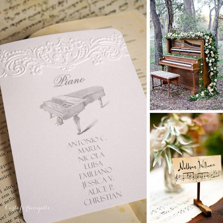 """Mi piace"": 23, commenti: 4 - Novella Bragagna (@cartaforbicigatto) su Instagram: ""#tableaudemariage #seatingchart #seatingplan #tableau #tableaumusicale #wedding #matrimonio…"""