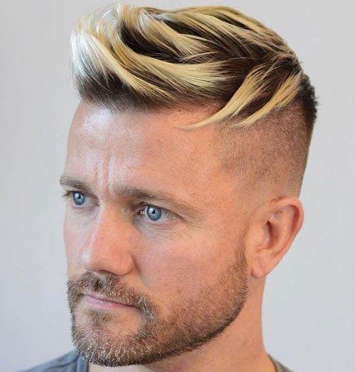 Awesome Thin Short Blonde Hair Men In 2020 Men Blonde Hair